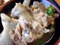 [沖縄][北谷][定食・食堂][郷土料理]最終的には手が汚れることなんてお構いなしにガヴガヴもんでした