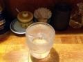 [深川][門前仲町][清澄白河][ラーメン][餃子][丼もの]残念ながらビールではなくお冷グビグビリン