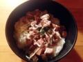 [西麻布][六本木][ラーメン][丼もの]琥珀の上品さと差別化するようにマヨネーズでジャンクなミニ焼豚丼