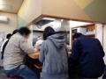 [御徒町][仲御徒町][上野御徒町][秋葉原][上野][ラーメン][丼もの]L字型カウンター7席+4名掛けテーブル1卓=計11名のキャパ