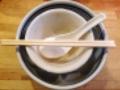 [深川][門前仲町][清澄白河][ラーメン][餃子][丼もの]完食です!(汚いのでモザイク処理済み)