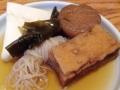 [麻布十番][おでん][定食・食堂]昆布主体のスッキリ和風ダシの素朴なおでん各種@麻布十番「福島屋」