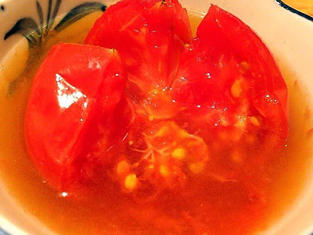 麻布十番の老舗「福島屋」のトマトおでん