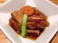 [麻布十番][おでん][定食・食堂]定番の酒肴・豚の角煮@麻布十番「福島屋」