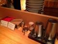 [西麻布][六本木][ラーメン][丼もの]お冷はポットからセルフサービスで真空断熱タンブラーに