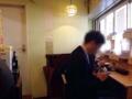 [牛込柳町][曙橋][新宿][ラーメン]オールカウンター席に変更。厨房側4席、窓側3席の計7席