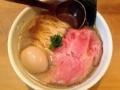[方南町][ラーメン][ビール][肉]方南町「中華蕎麦 蘭鋳」の味玉そば