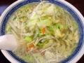 [西荻窪][ラーメン]野菜シャキシャキ、沁み渡る塩味、西荻窪「はつね」の激旨タンメン