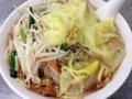 [渋谷][ラーメン][中華]もやしワンタン麺大盛@渋谷「中華麺店 喜楽」