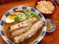[有楽町][ラーメン][茶飯][肉]和風柚子焼豚柳麺&茶飯@有楽町「麺屋ひょっとこ」