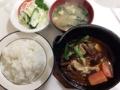 [千駄木][谷中][日暮里][洋食][パスタ][焼きそば][定食・食堂]東京・千駄木の老舗洋食屋「キッチン マロ」のビーフシチュー定食