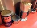 [浅草][ラーメン][餃子][丼もの]自家製激辛ラー油をはじめ安心の卓上調味料