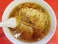 [浅草][ラーメン][餃子][丼もの]浅草「味の工房 菜苑 本店」の醤油ラーメン