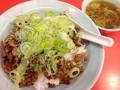 [浅草][ラーメン][餃子][丼もの]甘辛い味付けにネギと中華スープは抜群の相性