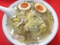 [神保町][ラーメン][チャーハン][餃子][中華]神保町の老舗中華料理屋「成光」のタンメン味付け玉子のせ