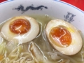 [神保町][ラーメン][チャーハン][餃子][中華]途中で味玉ハムハムゴックン