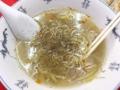 [神保町][ラーメン][チャーハン][餃子][中華]味変目的で胡椒とラー油をバフンバフン