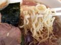 [神保町][ラーメン][チャーハン][餃子][中華]粉っぽい食感を残したチリチリの縮れ極細麺