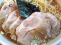 [神保町][ラーメン][チャーハン][餃子][中華]厚切りそのままに、面積が倍になった豚チャーシュー