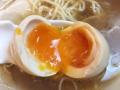 [神保町][ラーメン][チャーハン][餃子][中華]ハードボイルドな味玉かと思いきや、トロットロの半熟加減