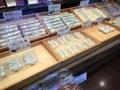 [谷中][日暮里][千駄木][菓子][甘味処][ドラマ][孤独のグルメ]大人気とされるかりんとう饅頭はレジそばに配置