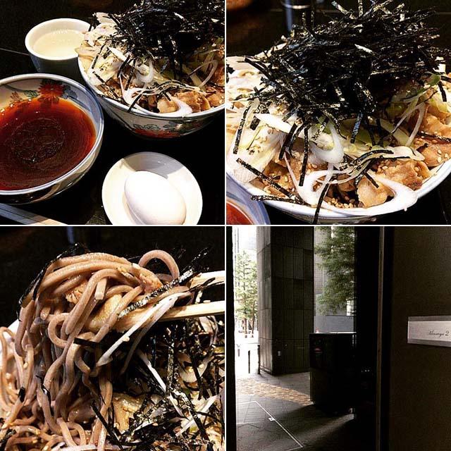 高級日本旅館『星のや東京』1階にオープンした立ち食い蕎麦「港屋2」