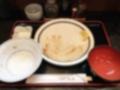 [西麻布][六本木][和食][定食・食堂]完食!(汚いのでぼかし処理済み)