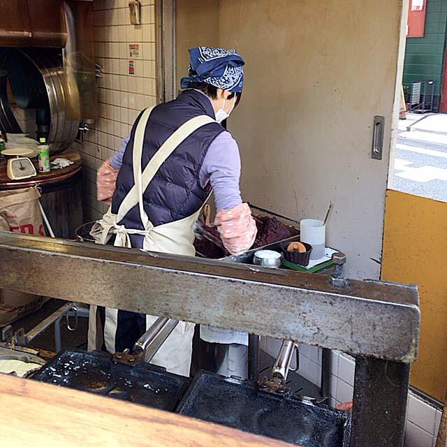 見るからに甘そうなあんこをタップリ使用@下高井戸「たつみや」