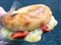 [上北沢][パン][ベーグル]ドライトマトチーズベーグル@上北沢「kepo bagels(ケポベーグルズ)