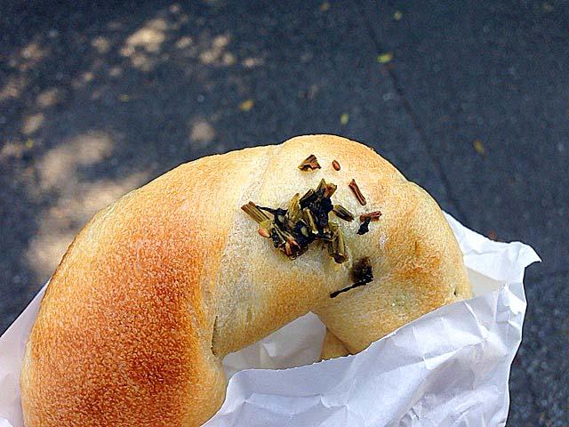 野沢菜ベーグル@上北沢「kepo bagels(ケポベーグルズ)