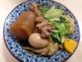 [沖縄][那覇][郷土料理][肉][おでん][居酒屋]大鍋でじっくり仕込まれる沖縄おでん。1品100円からなのもありがたい