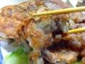 [沖縄][那覇][郷土料理][肉][おでん][居酒屋]食べたい分を食べたいだけ切り取って口に運ぶスタイル