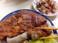 [沖縄][那覇][郷土料理][肉][おでん][居酒屋]てびちと言わなきゃ「うめえ」とかぶりつくてびち嫌いもきっと多数