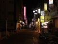 [新宿][ラーメン][ラーメン二郎]きらびやかなネオンが点在する新宿歌舞伎町