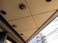 [ひばりヶ丘][ラーメン][ラーメン二郎]風雨しのげる屋根付き@「ラーメン二郎 ひばりヶ丘駅前店」