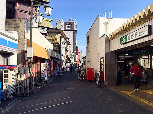 JR鶯谷駅と老舗町中華「大弘軒」の距離感