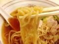 [谷中][日暮里][ラーメン][餃子][定食・食堂][菓子][甘味処]麺半玉だからラーメンと同料金のワンタンメン@谷中「花家」