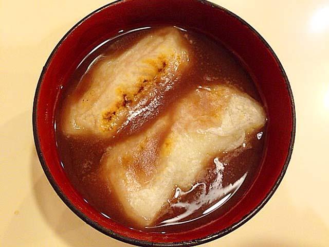 谷中の老舗甘味処「花家」の御膳しるこ(こし)