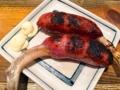 [上野][御徒町][肉][もつ焼き][居酒屋]上野の大人気老舗大衆酒場「大統領」の骨付きソーセージ