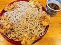 [銀座][東銀座][蕎麦]銀座の老舗「歌舞伎そば」1番人気の冷たいもりかき揚げそば470円