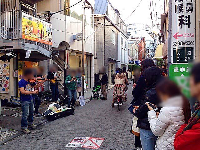 荻窪駅北口徒歩3分の荻窪教会通り商店街