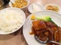 [御徒町][仲御徒町][上野御徒町][秋葉原][上野][ラーメン][チャーハン][中華][定食・食堂]ランチの豚の角煮定食@御徒町「中華 大興」