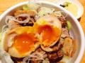 [神保町][御茶ノ水][ラーメン][つけ麺][丼もの]味玉オンした炙りチャーシューご飯@「神田 勝本」