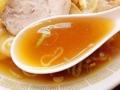 [神楽坂][早稲田][牛込柳町][ラーメン][チャーハン][中華][定食・食堂]本炊きと分かる力強い醤油スープ