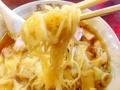 [神楽坂][早稲田][牛込柳町][ラーメン][チャーハン][中華][定食・食堂]細かいこと抜きに啜るのが楽しい、気持ちウェービーな中細麺