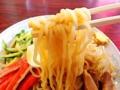 [神楽坂][早稲田][牛込柳町][ラーメン][チャーハン][中華][定食・食堂]麺量は200gあるかな?サラサラ酸味の爽やかな味わい