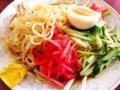 [神楽坂][早稲田][牛込柳町][ラーメン][チャーハン][中華][定食・食堂]カラシをつけて吸い込む麺、覚えるいくばくの刺激