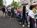 [方南町][ラーメン]東京・方南町「中華蕎麦 蘭鋳」のGW限定・塩ラーメン提供日の大行列
