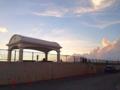[沖縄][北谷][沖縄そば][定食・食堂]夕焼け模様が絶景の沖縄本島中部の宮城海岸