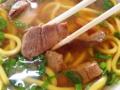 [沖縄][石垣島][沖縄そば][定食・食堂]黄味がかった麺が特徴的な石垣島「のりば食堂」の沖縄そば